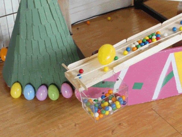 Mesin Mustahil Rube Goldberg pandai memecahkan konsep realiti
