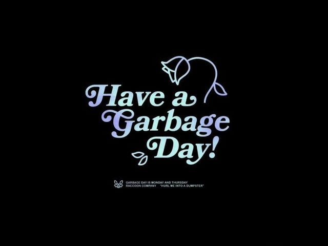 Open Forum: Garbage Day is Monday (And Thursday)