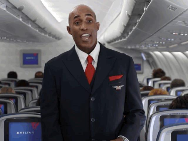 Delta's New Inflight Safety Video er Memes på Memes på Memes