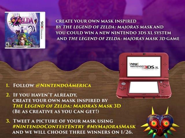 Avis / rappel du dernier concours de Nintendo + Art!