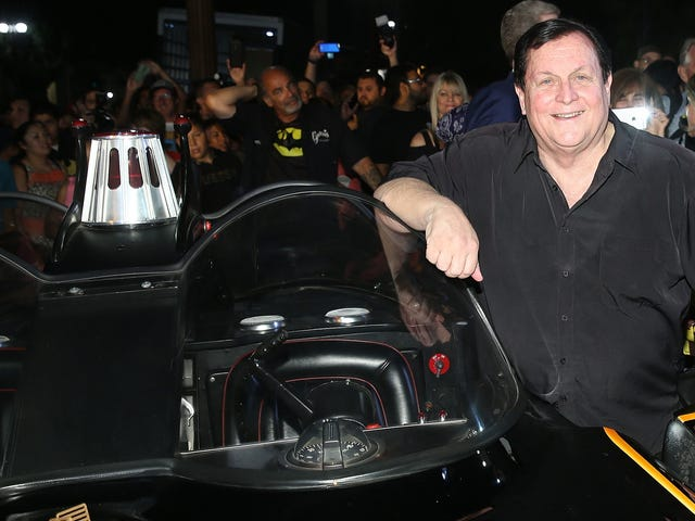 Batman's Burt Ward is showing up for the next big Arrowverse event
