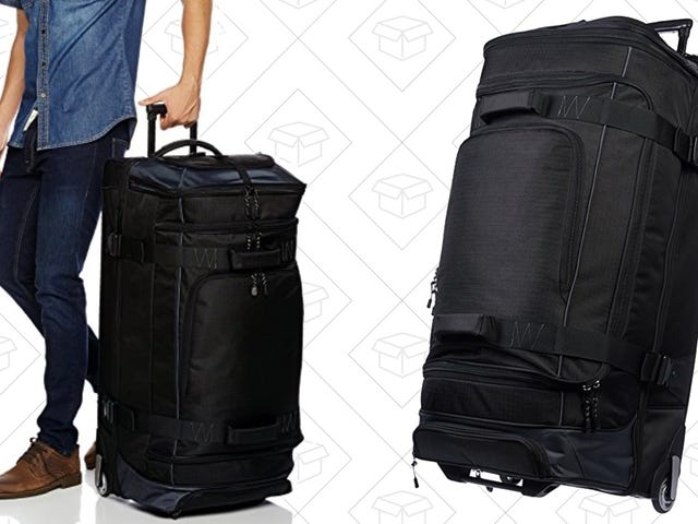 Amazon Makes Huge Wheeled Duffel Bags Now, and They're On Sale for the First Time Ever