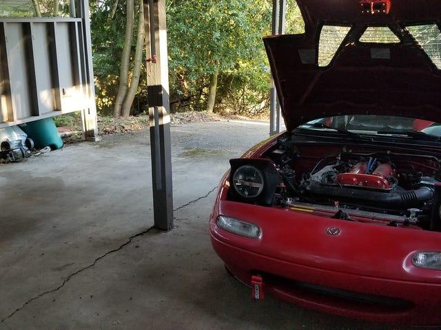 Not a garage, but close