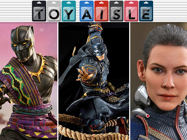 A Cavalcade of Gorgeous Marvel Hot Toys, and More of the Fanciest Toys of the Week
