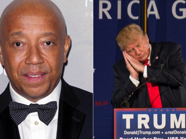 Russell Simmons Urges His Friend Donald Trump to Stop Destroying Peoples' Lives. Hm.