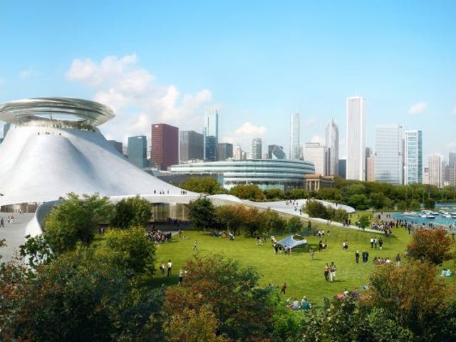 George Lucas Is Taking His Museum Away from Chicago