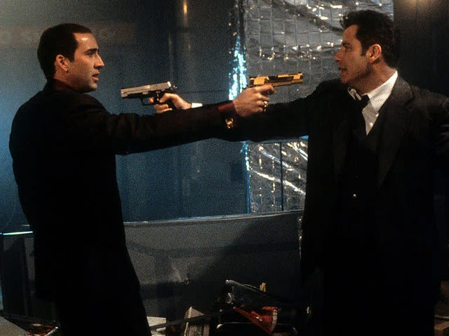 Paramount's remaking Face/Off, as if it can improve upon perfection
