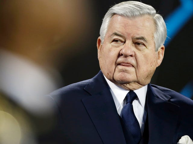 Ex-Panthers Employee Says Jerry Richardson Groped Her, Wrote Gross Notes About Wanting To Rub Her Feet