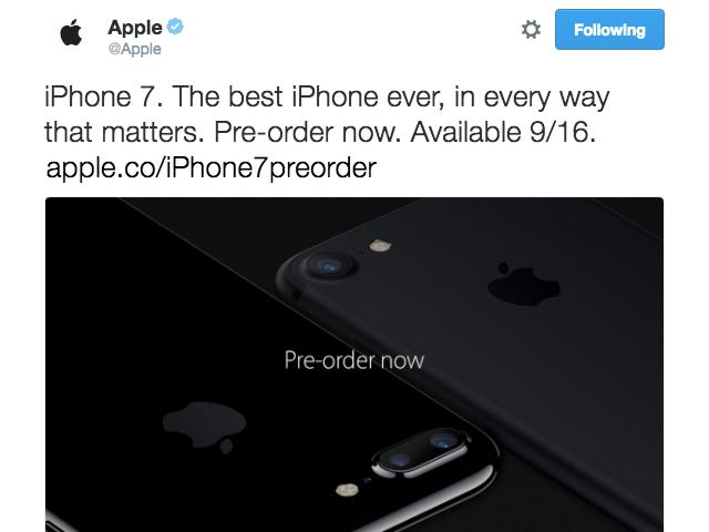 Apple yanlışlıkla en son iPhone Tweet