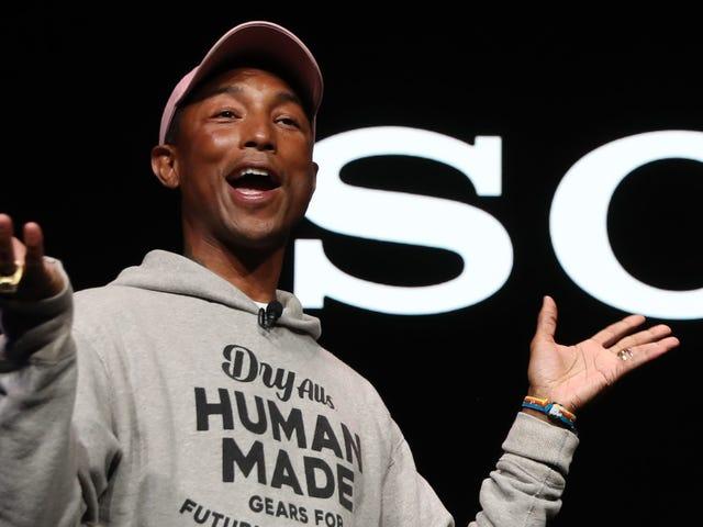 Pharrell Williams til at hedre sin hjemby Virginia med første gangs musikfestival