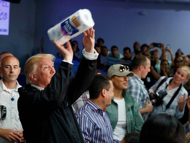 Trump Falsely Claims Democrats Made Up Hurricane Maria Death Toll to Make Him Look Bad