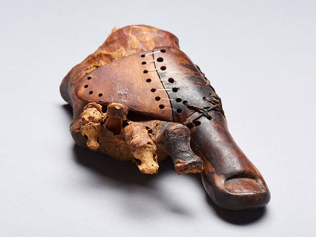 This 3,000-Year-Old Prosthetic Wooden Toe is More Incredible Than We Thought