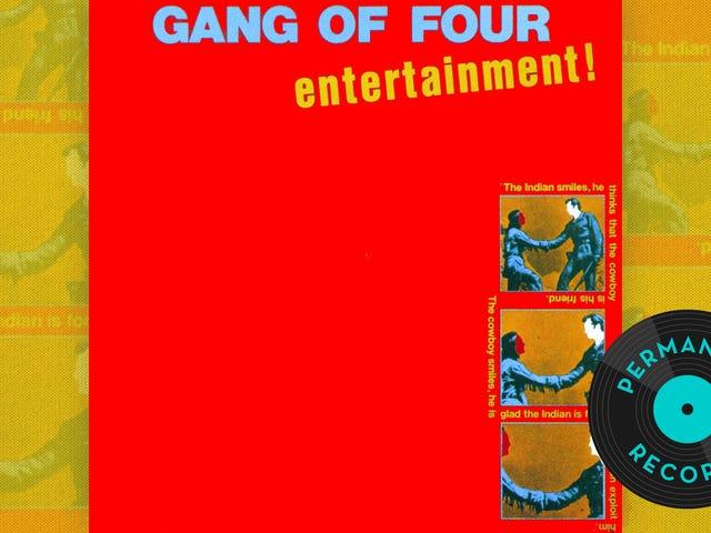 """Art meets the Satan via James Brown"": Gang of Fours underhållning i evighet!"