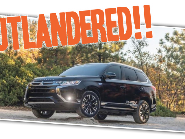 Mitsubishi Instagram Ad Shows The Outlander DOMINATING At Least Three Inches Of Rock