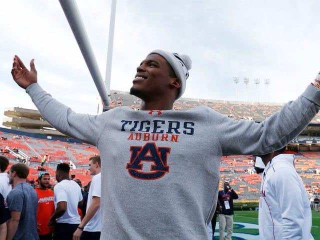 Cam Newton Snaps Di Heckling Alabama Fan