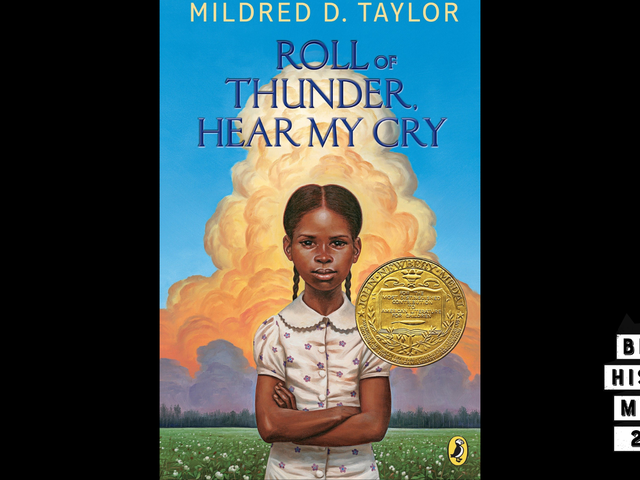 28 Days of Literary Blackness With VSB   Day 9: Roll of Thunder, Hear My Cry by Mildred D. Taylor