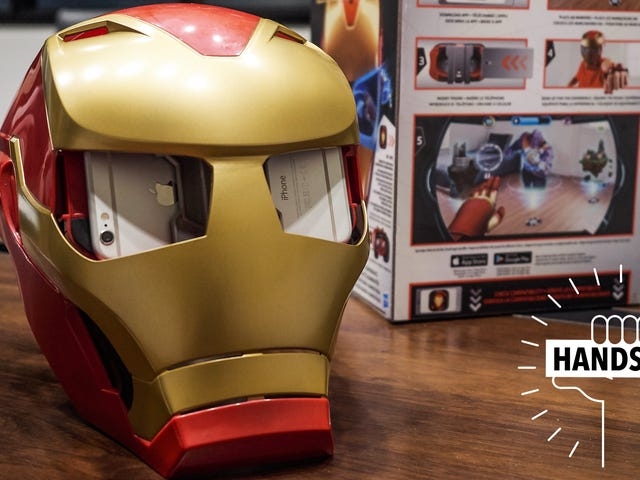 This Iron Man Mask Could Be the Future of Toys