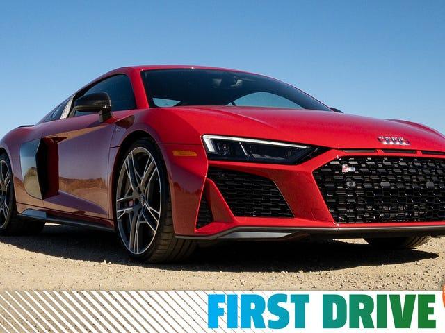 L'Audi R8 2020 est votre supercar de quartier amicale