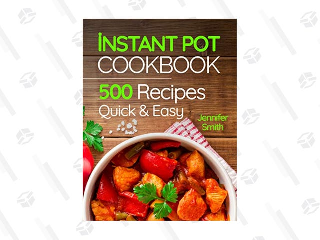 Don't Know What To Cook In Your New Instant Pot? Get This $4 Cookbook on Kindle