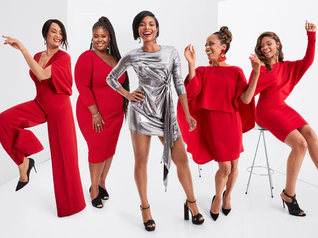 #AllTogetherNow: Gabrielle Union Introduces Us to Her Covetable—and Affordable—Holiday Collection for New York & Company