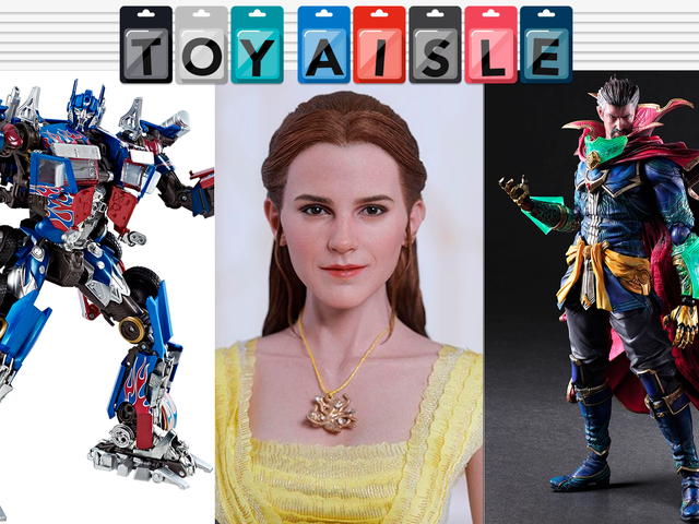 An Incredibly Shiny Optimus Prime, and the Rest of This Week's Coolest Toys