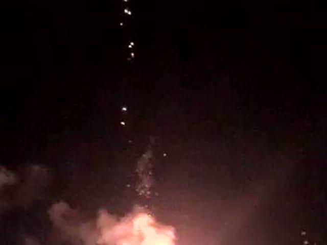 Fogos de artifício são perigosos