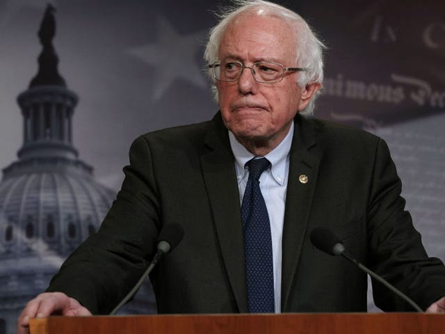It Sure Seems Like Bernie Is Planning on Running Again