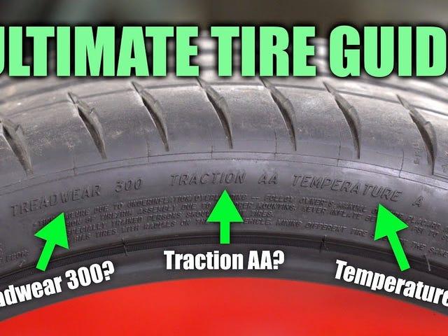 Comment comprendre ce qui est écrit sur vos pneus