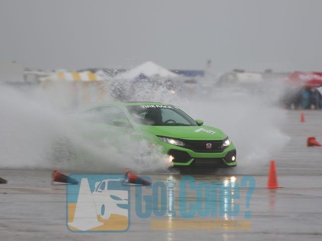 Just a tiny bit of rain at SCCA Solo Nationals