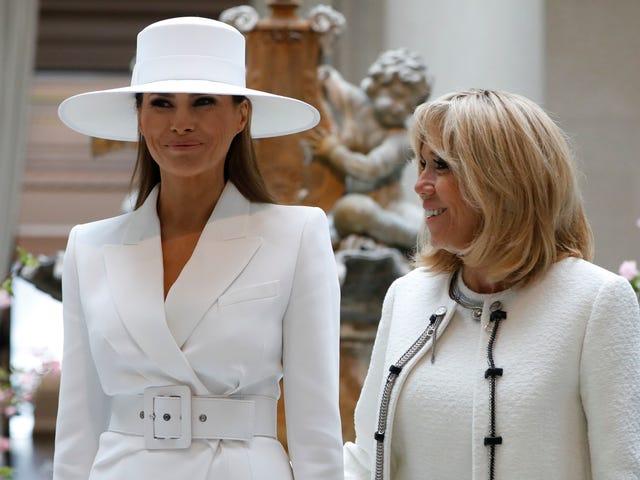 Melania Trump Wore a White-Lady Beyoncé 'Formation' Hat