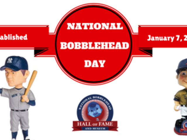 NATIONAL BOBBLEHEAD DAY – NATIONAL TEMPURADAY