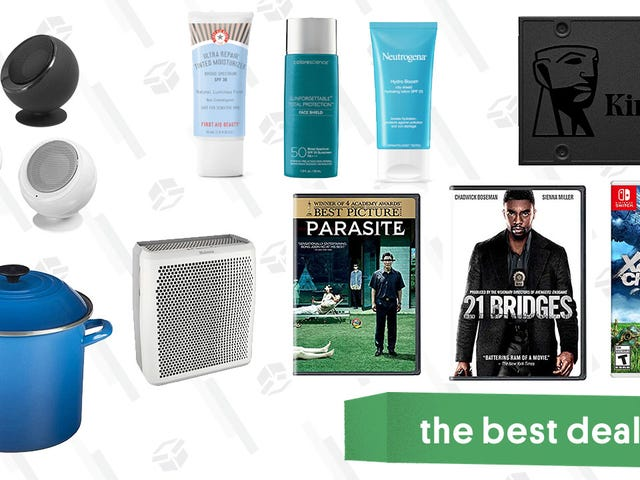 Wednesday's Best Deals: Kingston SSD, BBoutique Giveaway, Room Purifier, Sun Care Product Sale, Le Creuset Stockpot, and More