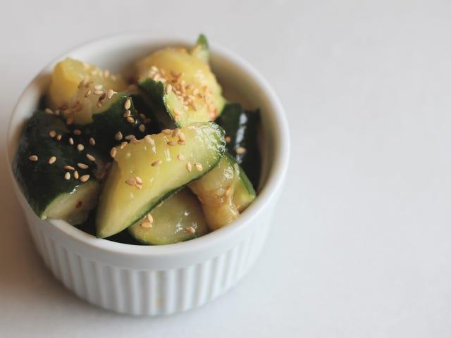 Smashed Cucumbers Make Better Salads