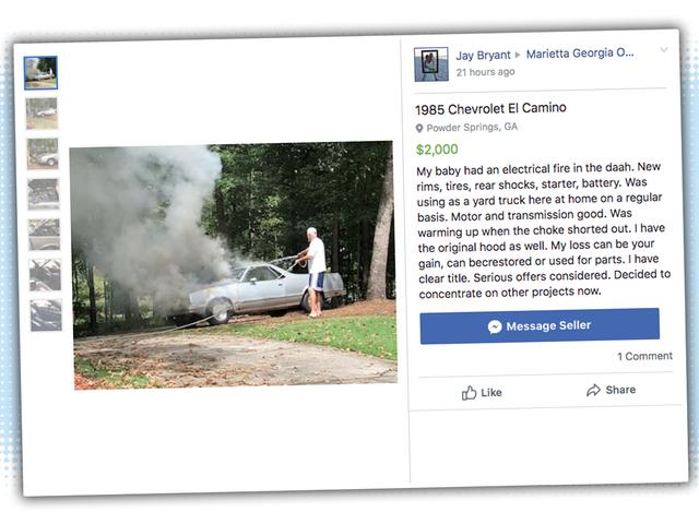 誰かが、車を売ったときに正しい絵だけを使うことの重要性を理解している