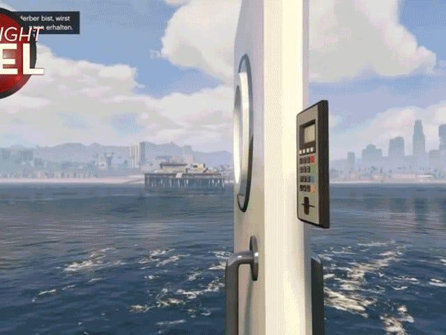 Λυπάμαι για το σκάφος που έφυγε, <i>GTA</i> Dude
