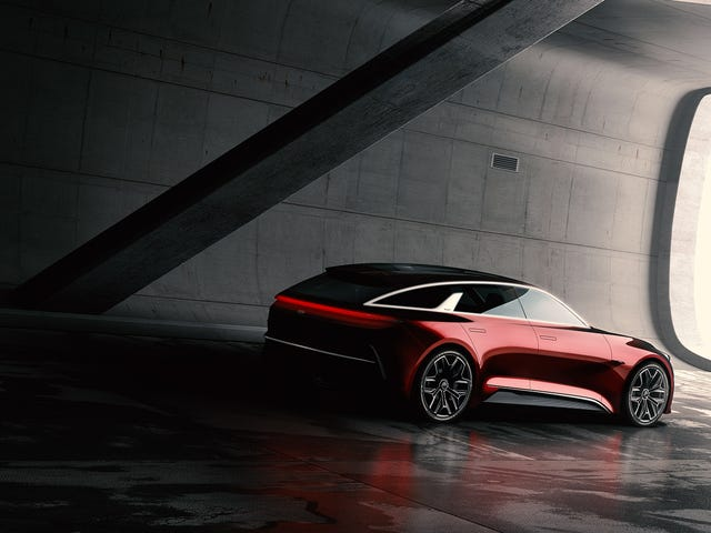 Kia's New Wagon Concept Is A Beautiful Tease That Probably Won't Come To America