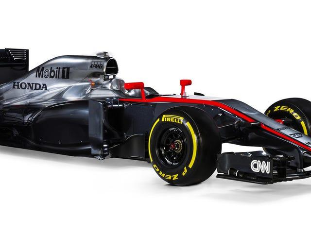 The 2015 McLaren Honda Is A Throwback Untuk Apabila Kereta F1 Tidak Hideous