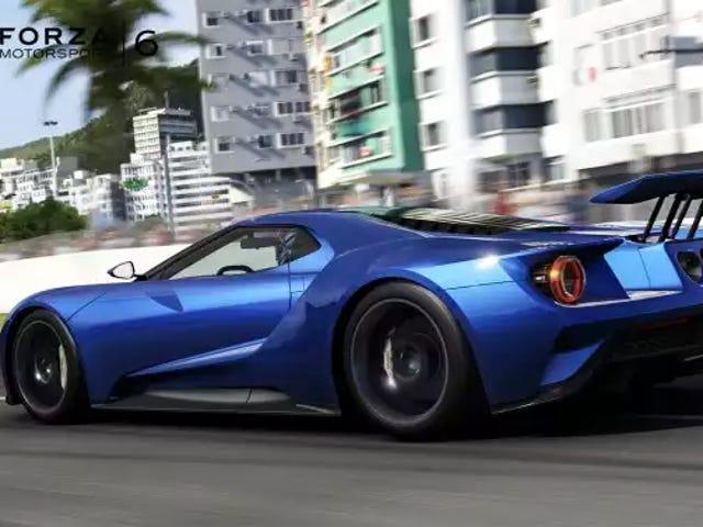 Así que el Ford GT tiene aero activo.