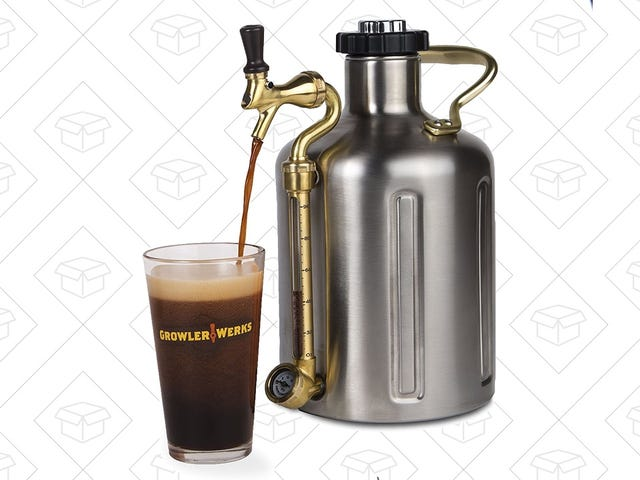 The Coolest Growler You've Ever Seen Has Never Been Cheaper