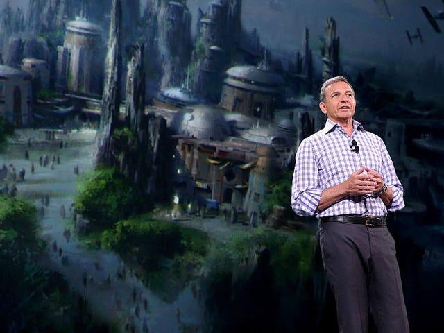 Disneyn toimitusjohtajan Bob Igerin mukaan Tähtien sota hidastuu