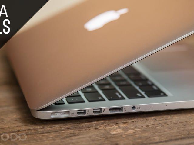 "13 ""Retina MacBook Pro에 $ 300- $ 350 할인"