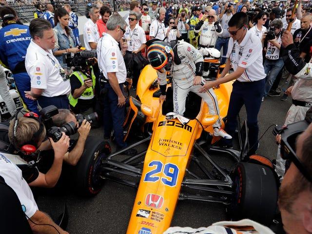 Hype Fernando Alonso jest w pełni sił po swoim debiucie w WEC Win At Spa
