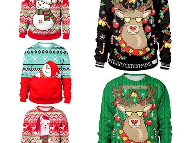 Save $10 on this Unisex Ugly Christmas Sweater