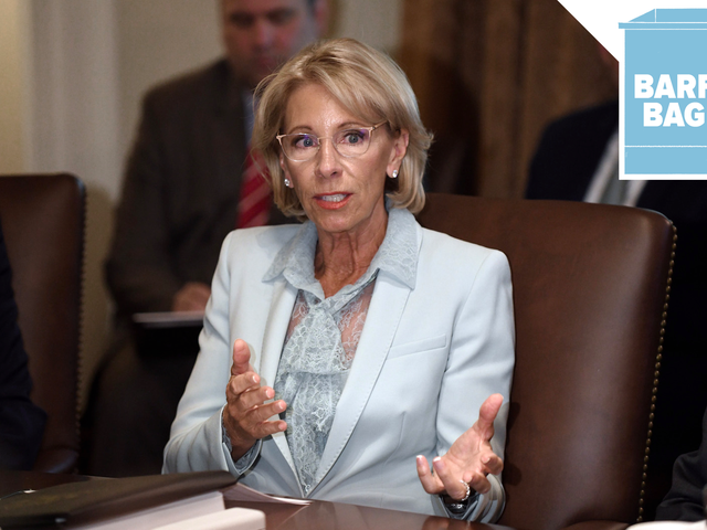 Betsy Devos Is Back on Campus