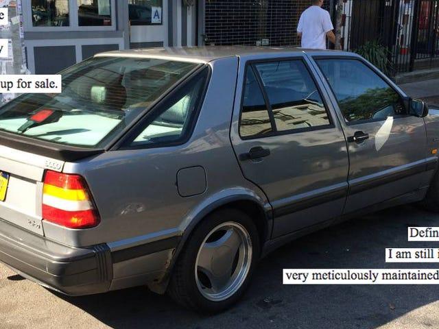Område Saab Eier ødelagt å dele med elskede 9000 Turbo