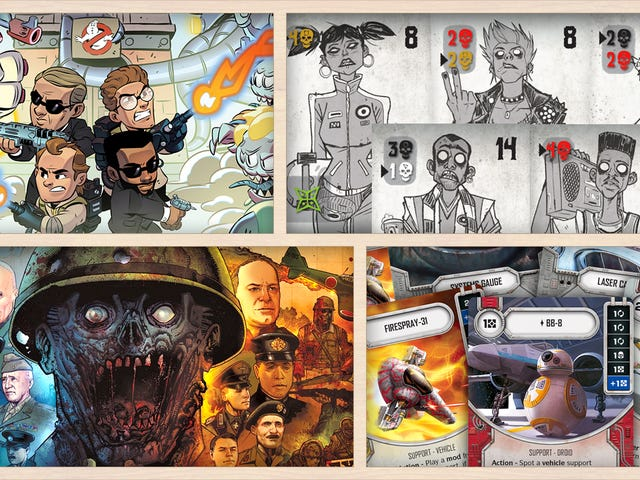 Here Come the Men in Black (and Ghostbusters!) in the Latest Tabletop Gaming News