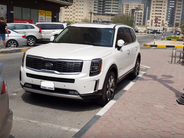 Remember the Kia Telluride? Here's how the production version looks uncovered