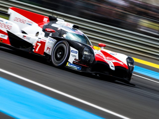 There Are Two Minutes Between The Leading Toyotas At Le Mans, And Fernando Alonso Isn't In Front