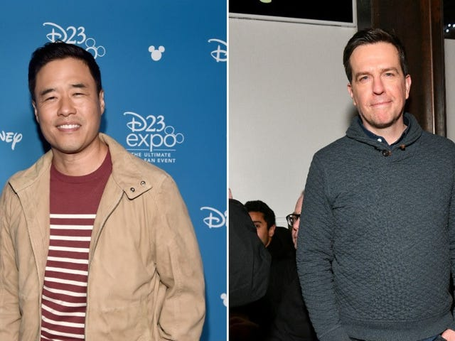Randall Park and Ed Helms to spice up your boring stories for NBC