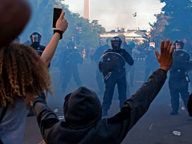 Tear Gas Is Dangerous and Should Be Illegal